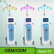 Equipamento facial da beleza de Microdermabrasion do oxigênio do rejuvenescimento da pele de PDT