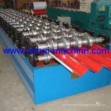 Bohai ondulado Sheet Roll formando máquina para construção