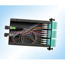 Fibra Óptica MPO-LC Casette / MPO Caja con Adaptadores