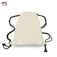 Wholesale plain baumwolle rucksack tasche