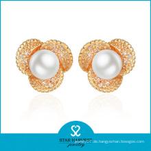 Charming Whosale Preis Perlenohrring