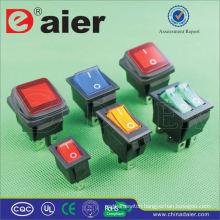 Daier 10A 125VAC t125 5e4 rocker switch