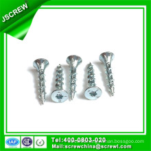 5#*20 Double Countersunk Head Iron Self Tapping Wood Screw