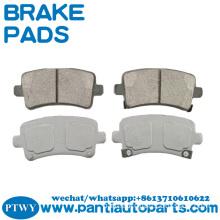 Wholesale brake pads 16586609 for BUICK CADILLAC SAAB