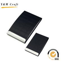 Cartão de visita do couro do plutônio / suporte do cartão de crédito / suporte de cartão conhecido