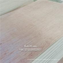 1220mmx2440mm, núcleo de álamo, madera contrachapada de okoume de madera contrachapada de Bingtangor de grado BB / CC