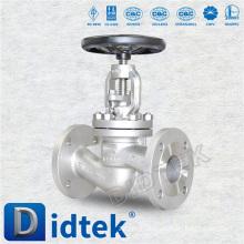 Didtek DIN DN65 PN16 Flange End Globe Valve