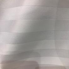 Polyester 2cm gestreifter Satin Stoff