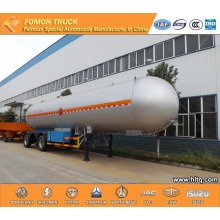 3 axles 50m3 LPG semi trailer