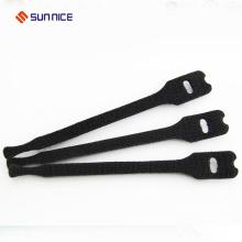 Gancho de cabo de laço plástico e laço de fixação de cabo de fixação