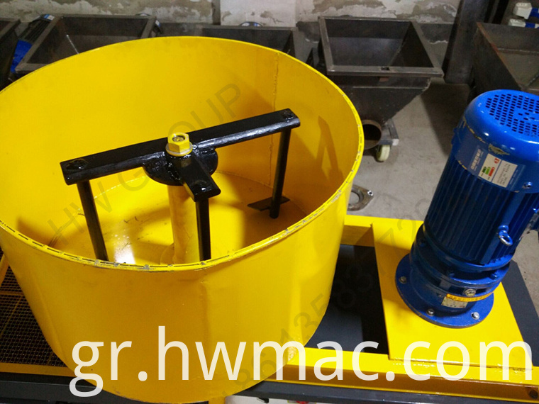 cement sparying machine with mixer