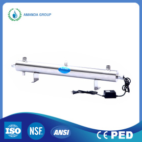 UV Water Sterilizer Disinfection Purification