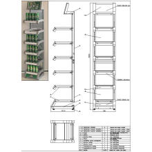 Metal Bier Rack (SLL-ROO5)