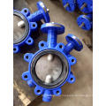 High Performance Double Eccentric Butterfly Valve with Handle