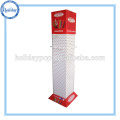 Supermarket Cell Phone Case Promotion Cardboard Display with Hook/Peg