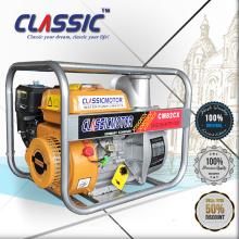 CE estándar de bomba de cilindro único móvil, 3 pulgadas de gasolina bomba de agua WP30 168F, bomba de agua de 3 pulgadas con pequeño motor de gasolina