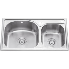 L5602 S. S Stretching Double Bowl Sink