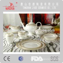 Cena china de hueso conjunto, serie de ware de cena