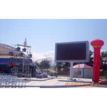 P10 Commercial Led Display Panel For Railway Stations , Dust-proof Led Display Board