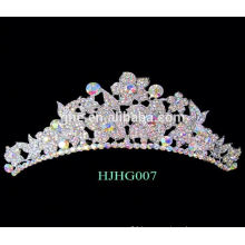 pageant crowns tiaras red crystal wedding crown tiara flower crown king crown ring