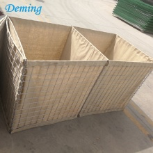 Factory Hot Dip Galvaniserad Hesco Defensive Barriers till salu