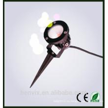 Iluminación llevada decorativa decorativa del pote de flor del alto lumen al aire libre 110 voltios de la alta calidad