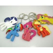 Custom Soft PVC Rubber Keychain Silicone Keyring