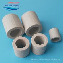 super ceramic Random packing 25mm Alumina ceramic raschig ring