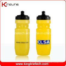 Garrafa de água de plástico, garrafa de esportes plástica, garrafa de água de esportes de 650 ml (KL-6629)
