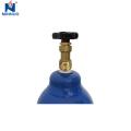 50L industrial use oxygen cylinder,oxygen tank size