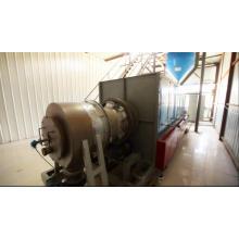 Máquina rotativa ativada por mina de ouro horizontal