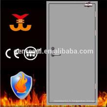 Porte en acier affleurant la résistance au feu
