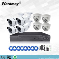 8chs 1.3MP Security PoE NVR-systeemkits