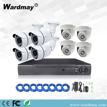 8chs 1.3MP Keamanan PoE NVR System Kit