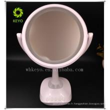 2017 chaud nouveau produit bluetooth haut-parleur musique maquillage miroir avec LED lumière