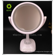 2017 hot new product bluetooth speaker music makeup mirror with LED light