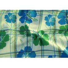beach shorts fabric/transfer print microfiber fabric / brushed peach s