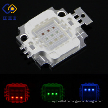 9w rgb high power led lampe 120 oder 140 grad formen