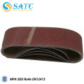 aluminum oxide abrasive sanding belt for machine