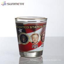 Sunmeta 1.5oz Blank Сублимация Мини-бокал для вина, сделанный в Китае по конкурентоспособной цене
