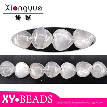 Factory Detail Heart Opal Charm Bracelet Beads 20x20mm