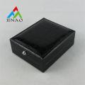 Caja de gemelos de plástico negro de cuero PU de alta calidad