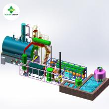 Usado petróleo bruto óleo de plástico e óleo de motor para a máquina da planta diesel para preço barato