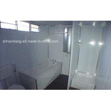 Salle de bains de conteneur portable préfabriquée pour location certifiée (shs-fp-bathroom006)