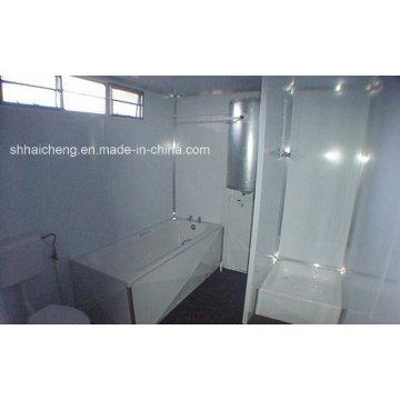 Zertifizierter Miete Fertiggestellter Container Badezimmer (shs-fp-bathroom006)
