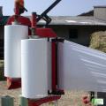 LLDPE de alta calidad con aditivos funcionales Silo de película plástica transparente