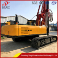 Hydraulic solar project  highway guardrail pile+driver