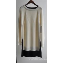 Señoras de invierno con mangas largas suéter jersey