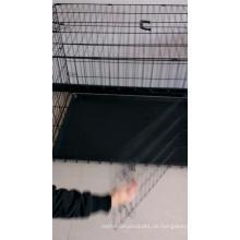 Kundenspezifischer Haustier-Käfig mit Plastikbehälter (schnelle Lieferung, Fabrik-Angebot)