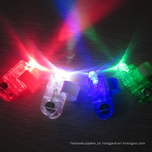 lindo personalizado flash led anel laser feixe